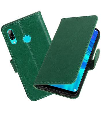 Motief Bookstyle Hoesje voor Huawei Honor 10 Lite Groen