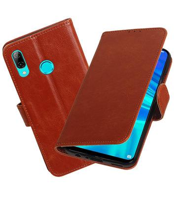 Motief Bookstyle Hoesje voor Huawei Honor 10 Lite Bruin