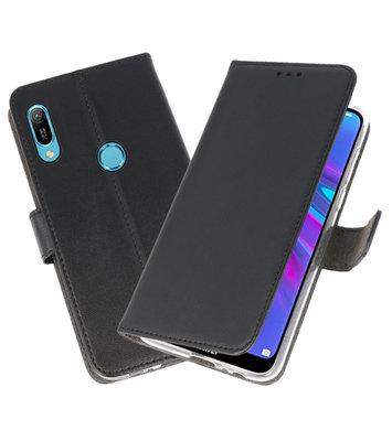 Booktype Wallet Cases Hoesje voor Huawei Y6 / Y6 Prime 2019 Zwart