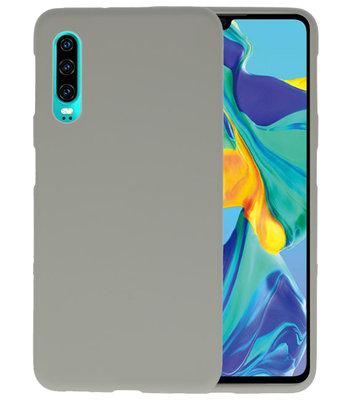 Color TPU Hoesje voor Huawei P30 Grijs