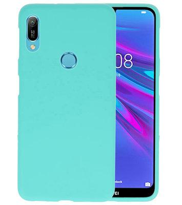 Color TPU Hoesje voor Huawei Y6 (Prime) 2019 Turquoise
