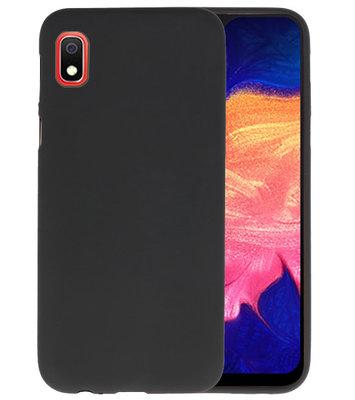 Color TPU Hoesje voor Samsung Galaxy A10 Zwart