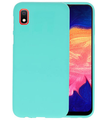 Color TPU Hoesje voor Samsung Galaxy A10 Turquoise