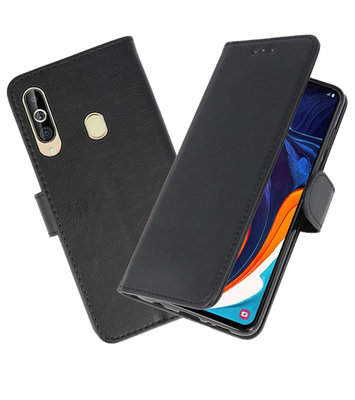 Bookstyle Wallet Cases Hoesje voor Samsung Galaxy A60 Zwart