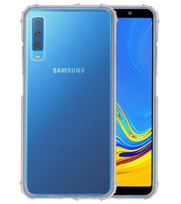Schokbestendig transparant TPU hoesje voor Samsung Galaxy A7 2018