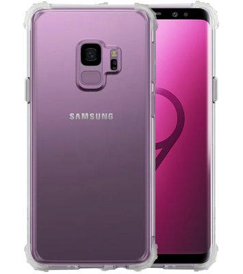 Schokbestendig TPU hoesje voor Galaxy S9 Transparant