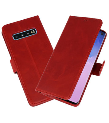 Rico Vitello Rood Echt Leder Hoesje voor Samsung Galaxy 10