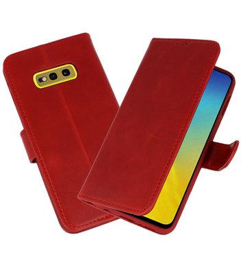 Rico Vitello Rood Echt Leder Hoesje voor Samsung Galaxy 10e
