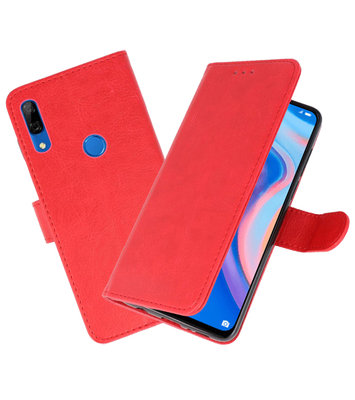 Bookstyle Wallet Cases Hoesje voor Huawei P Smart Z Rood