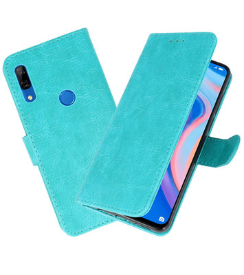 Bookstyle Wallet Cases Hoesje voor Huawei P Smart Z Groen