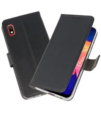 Wallet Cases Hoesje voor Samsung Galaxy A10 Zwart