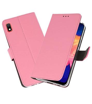 Wallet Cases Hoesje voor Samsung Galaxy A10 Roze