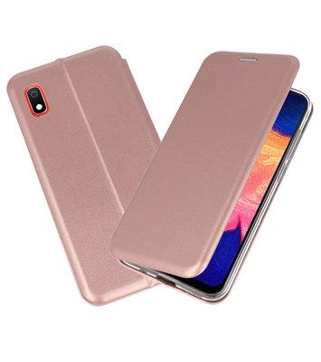 Slim Folio Case voor Samsung Galaxy A10 Roze