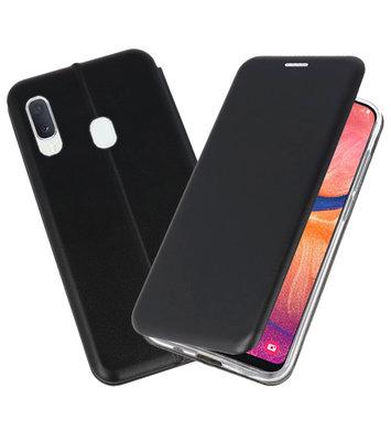 Slim Folio Case voor Samsung Galaxy A20e Zwart