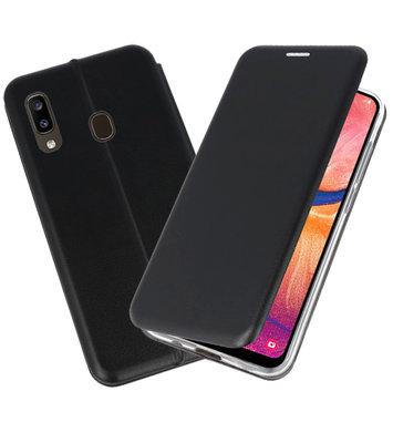 Slim Folio Case voor Samsung Galaxy A20 Zwart