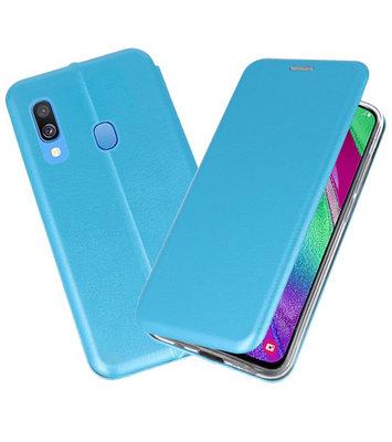 Slim Folio Case voor Samsung Galaxy A40 Blauw