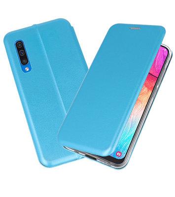 Slim Folio Case voor Samsung Galaxy A50 Blauw