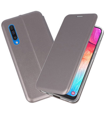 Slim Folio Case voor Samsung Galaxy A50 Grijs