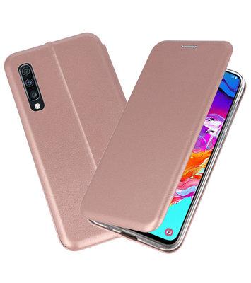 Slim Folio Case voor Samsung Galaxy A70 Roze