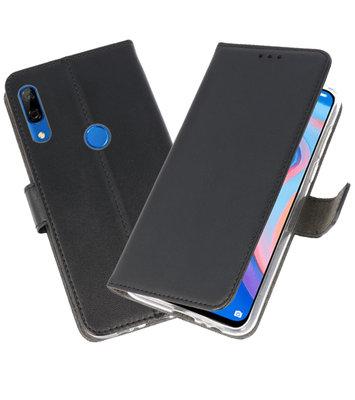 Wallet Cases Hoesje voor Huawei P Smart Z Zwart