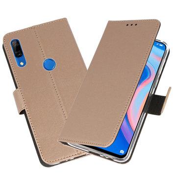 Wallet Cases Hoesje voor Huawei P Smart Z Goud