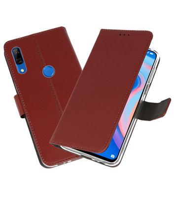 Wallet Cases Hoesje voor Huawei P Smart Z Bruin