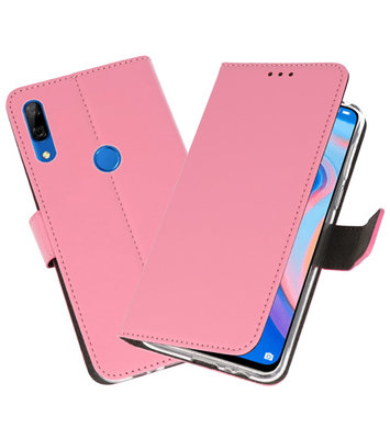 Wallet Cases Hoesje voor Huawei P Smart Z Roze