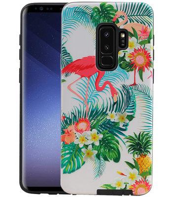 Flamingo Design Hardcase Backcover voor Samsung Galaxy S9 Plus