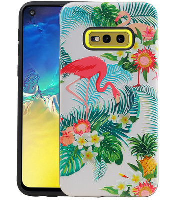 Flamingo Design Hardcase Backcover voor Samsung Galaxy S10e