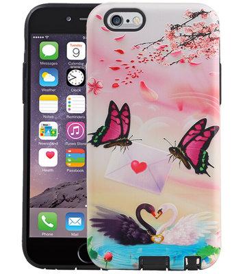 Vlinder Design Hardcase Backcover voor iPhone 6