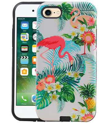 Flamingo Design Hardcase Backcover voor iPhone 8 / 7
