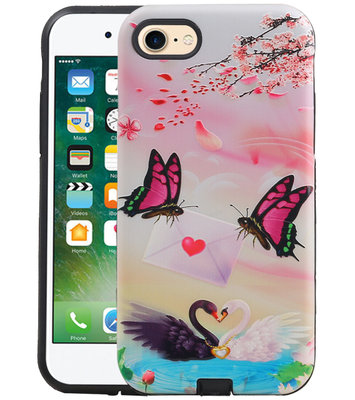 Vlinder Design Hardcase Backcover voor iPhone 8 / 7