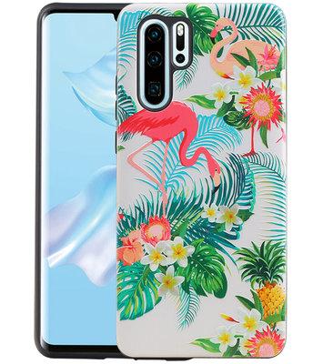 Flamingo Design Hardcase Backcover voor Huawei P30 Pro