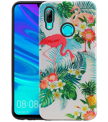 Flamingo Design Hardcase Backcover voor Huawei P Smart 2019