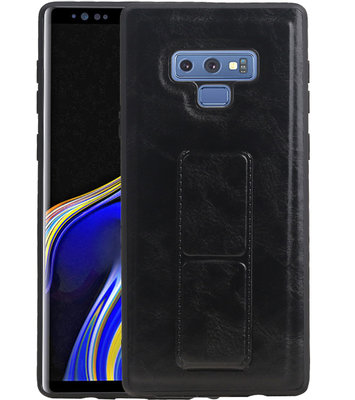 Grip Stand Hardcase Backcover voor Samsung Galaxy Note 9 Zwart