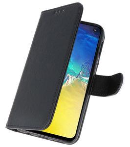 Booktype Wallet Cases voor de Samsung Galaxy A71 Zwart