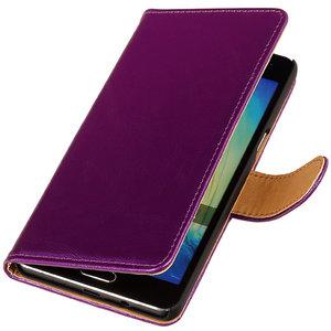 PU Leder Lila Samsung Galaxy S Duos 3 Book/Wallet Case