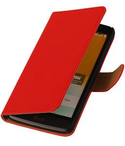80876c7d1c7 Rood Hoesje voor Samsung Galaxy Core Prime Book/Wallet Case/Cover