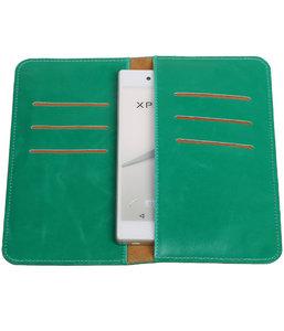 Groen Pull-up Large Pu portemonnee wallet voor Microsoft