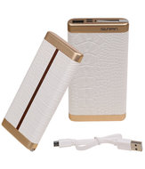 Wit Krokodil SunPin Powerbank 10000 mAh iPhone/iPad Oplader